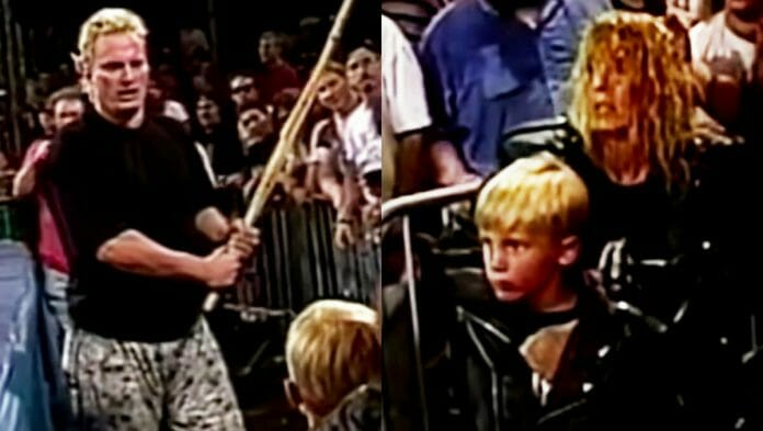 On October 26th, 1996, an ECW incident involving The Sandman went too far.
