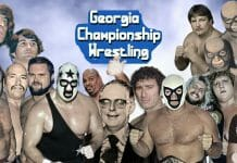 """The Georgia Championship Wrestling (GCW) wrestling territory thrived with stars such as Jack and Jerry Brisco, """"The Minnesota Wrecking Crew"""" Ole and Arn Anderson, El Mongol, The Masked Superstar, Abdullah the Butcher, promoter Jim Barnett, """"Bullet"""" Bob Armstrong, Mr. Wrestling II, """"The Fabulous Freebirds"""" Terry Gordy and Michael Hayes, """"Wildfire"""" Tommy Rich, The Assassins, Seth Hansen, and a host of others."""