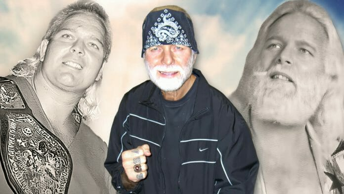 """""""The Boogie Woogie Man,"""" """"Handsome"""" Jimmy Valiant over the years."""