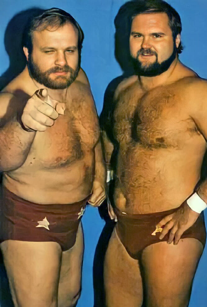 The Minnesota Wrecking Crew: Ole and Arn Anderson.