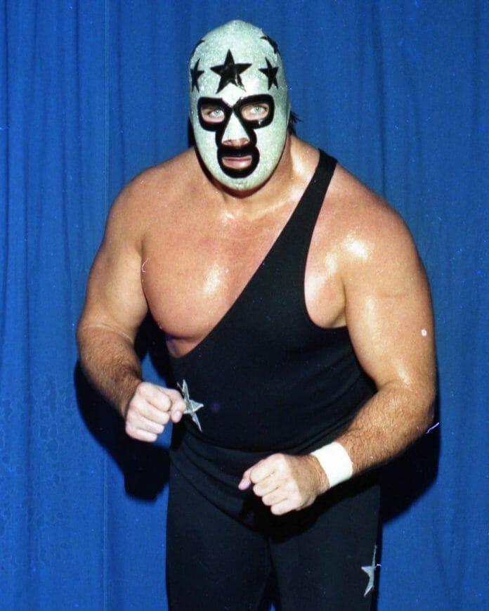 """""""The Masked Superstar"""" Bill Eadie."""