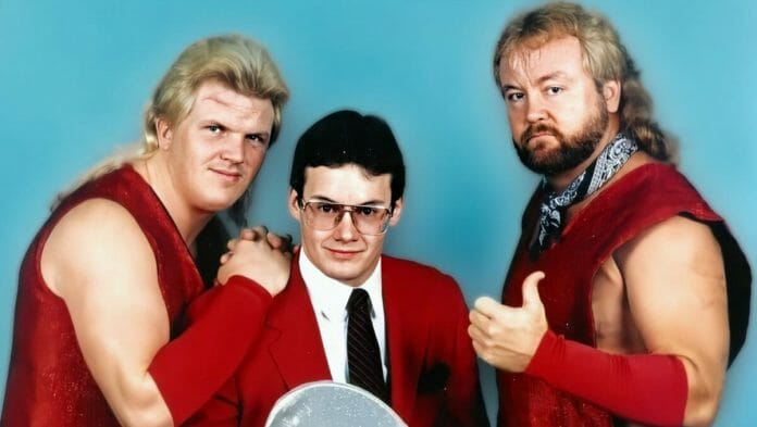 Bobby Eaton, Jim Cornette, and Dennis Condrey. The Midnight Express were an unstoppable tag team that defined greatness.