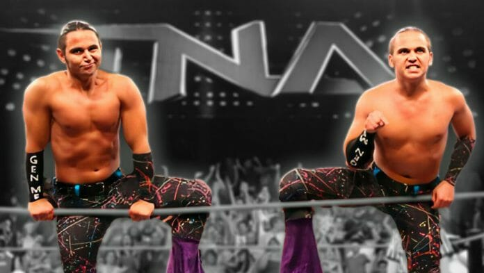 The Young Bucks as Generation Me in TNA.